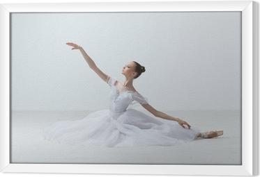 ballet dancer Framed Canvas