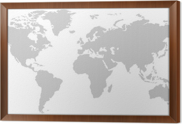 Black and white vertical line pattern world map negative wall mural black and white vertical line pattern world map negative framed canvas gumiabroncs Images