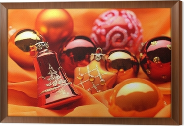 Christbaumkugeln Material.Christbaumkugeln Deko Auf Satin Wall Mural Pixers We Live To