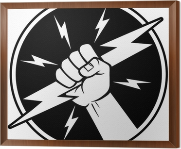 Electrician Symbol Sticker • Pixers® • We live to change