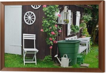 Garten Shabby garten hütte shabby chic wall mural pixers we live to change