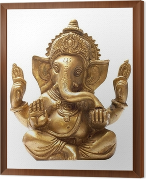 ganesh sculpture Wall Mural • Pixers® - We live to change