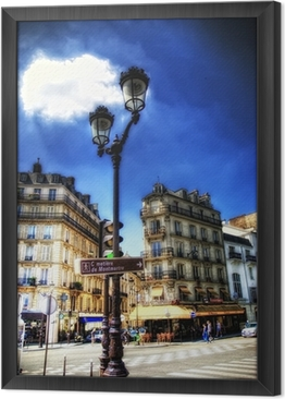 Montmartre Framed Canvas