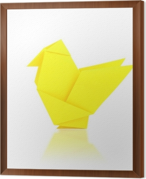 origami chicken--either decoration or activity | Origami easy ... | 362x294