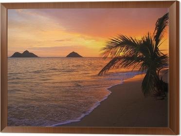 pacific sunrise at lanikai beach in hawaii wall mural pixers we