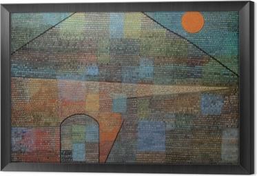 Paul Klee - Ad Parnassum Framed Canvas