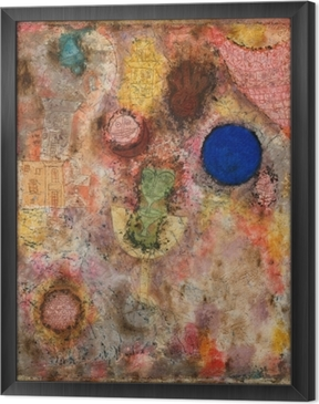 Paul Klee - Magic Garden Framed Canvas