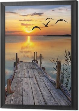 un rincón para soñar Framed Canvas