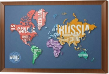 Vector detailed world map with borders and country names education vector detailed world map with borders and country names education business and travel infographic gumiabroncs Gallery