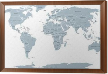 World political map detailed map of the world with shorelines world political map detailed map of the world with shorelines national borders and country gumiabroncs Gallery