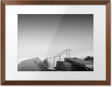 steps to nowhere Framed Poster HD