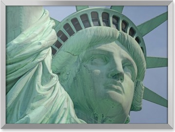 Statue of Liberty, Liberty Island, New York City Framed Picture
