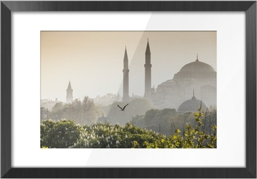 Sultanahmet Camii / Blue Mosque, Istanbul, Turkey Framed Picture