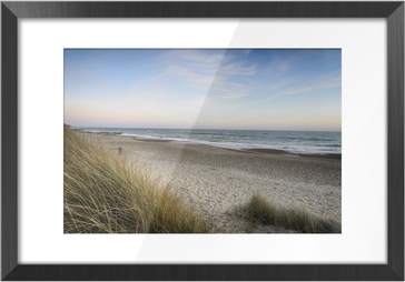 Sunset at the Beach Framed Picture