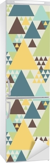 Abstract geometric pattern #2 Fridge Sticker