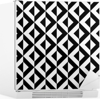 Abstract geometric pattern Fridge Sticker