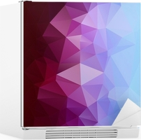 Abstract polygonal background. Fridge Sticker