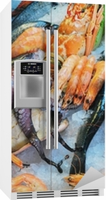 Fresh seafood Fridge Sticker