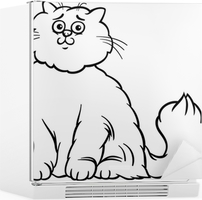 cat color page luxury animal coloring persian cats pages of