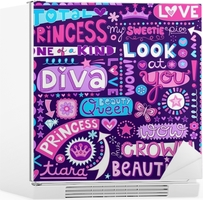 The Word Diva In Glitter