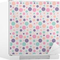 seamless dots pattern Fridge Sticker