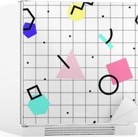 Seamless geometric pattern Fridge Sticker