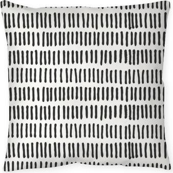 Funda de almohada Líneas abstractas Seamless pattern.