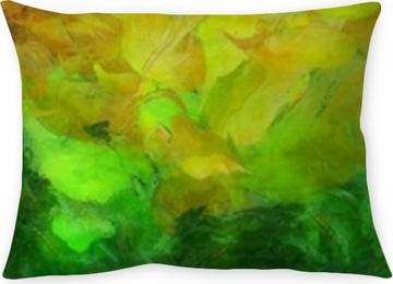 Funda de almohada Pintura abstracta colorida