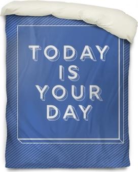 Funda de edredón Hoy es tu día