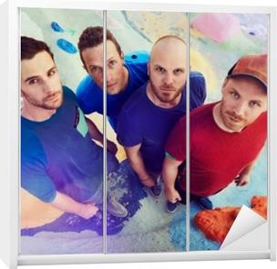 Coldplay Garderobe klistermærke