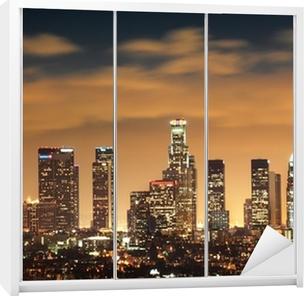 Downtown Los Angeles skyline Garderobe klistermærke