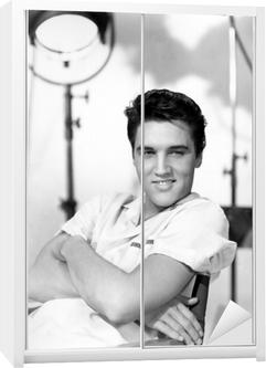 Elvis Presley Garderobe klistermærke