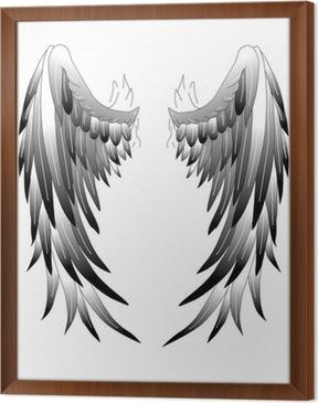 Fototapete Angel Wings Engelsflügel Tattoo Art 1 Pixers Wir