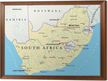 Südafrika Karte.Fototapete Südafrika Karte Südafrika Landkarte Pixers Wir