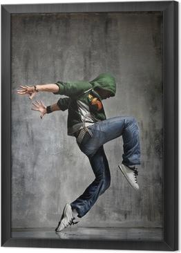 Gerahmtes Leinwandbild Tanzen