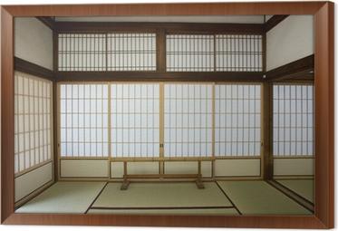 Washitsu Raum Zimmer Im Japanischen Stil Mit Tatami Matte Kyoto Japan