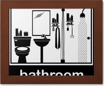 Poster Badezimmer. Good Badezimmer Wandbilder Schn Bilder ...