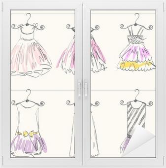 8b53b0fe5dd0 Poster Fashionabla vackra kläder för små flickor • Pixers® - Vi lever för  förändring