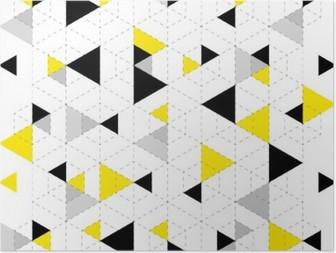 HD Poster Geometrische Muster-Hintergrund