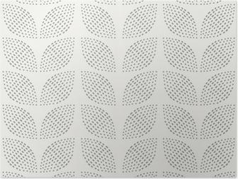 HD Poster Nahtlose Muster. Handgemalt. Blume. Hintergrund-Design