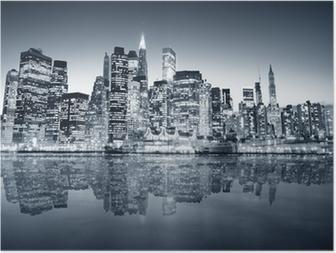 HD Poster New York. Manhattan