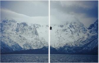 İki Parçalı Vesterålen, lofoten adaları, norveç