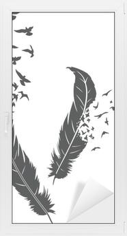 Feather Ikkuna- Ja Lasitarra