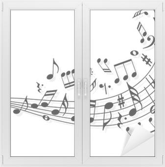 Musiikin muistiinpanoja Ikkuna- Ja Lasitarra