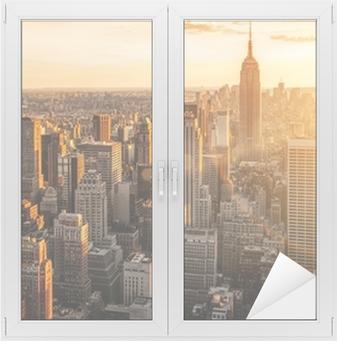 New York Ikkuna- Ja Lasitarra