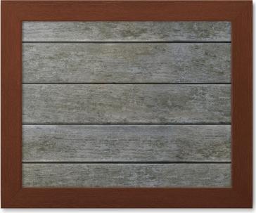 Poster alterate grigio texture di legno orizzontale perfettamente
