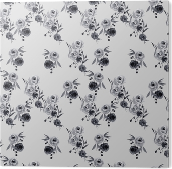Impressão em Acrílico teste padrão floral minimalista - Nina Ho