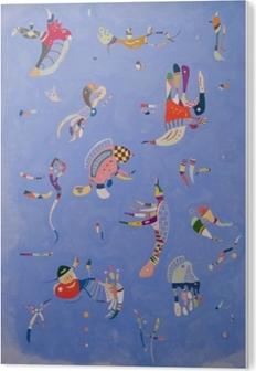 Impressão em Acrílico Wassily Kandinsky - Céu azul