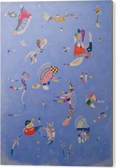 Impressão em Alumínio (Dibond) Wassily Kandinsky - Céu azul