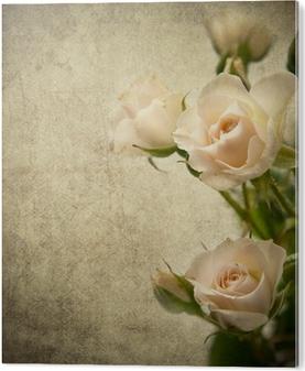 Impressão em PVC Rose texture